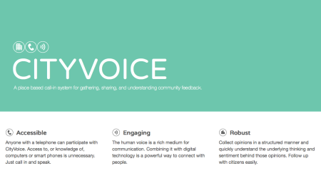 Cityvoice - feedback to government