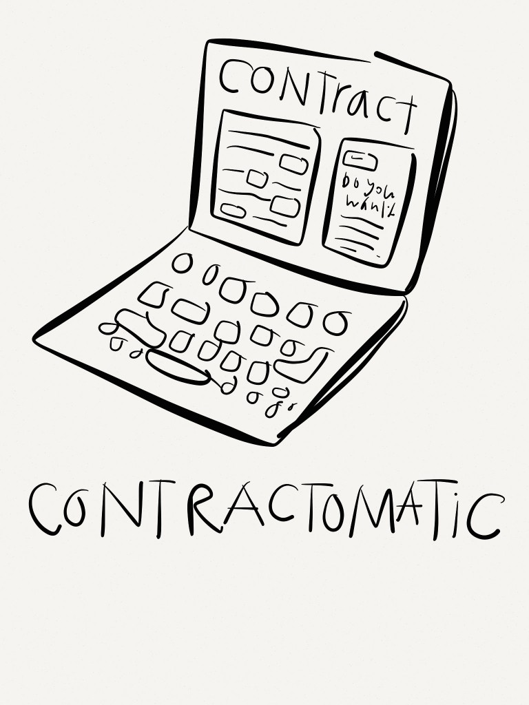 Law - concept design - contractomatic