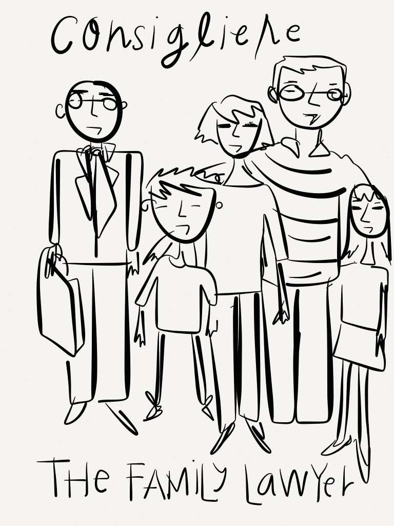 Law - legal concept - consigliere your family lawyer