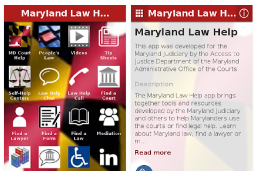 Access Innovations - mobile self help - maryland self help law app - Screen Shot 2016-06-27 at 7.53.11 PM